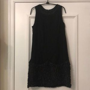 Black Ruffled Betsey Johnson Cocktail Dress
